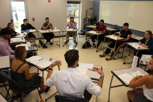Eckerd College Classroom - Entrepreneurial Mindset Profile