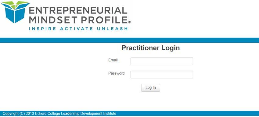 EMP Practitioner Portal Homepage