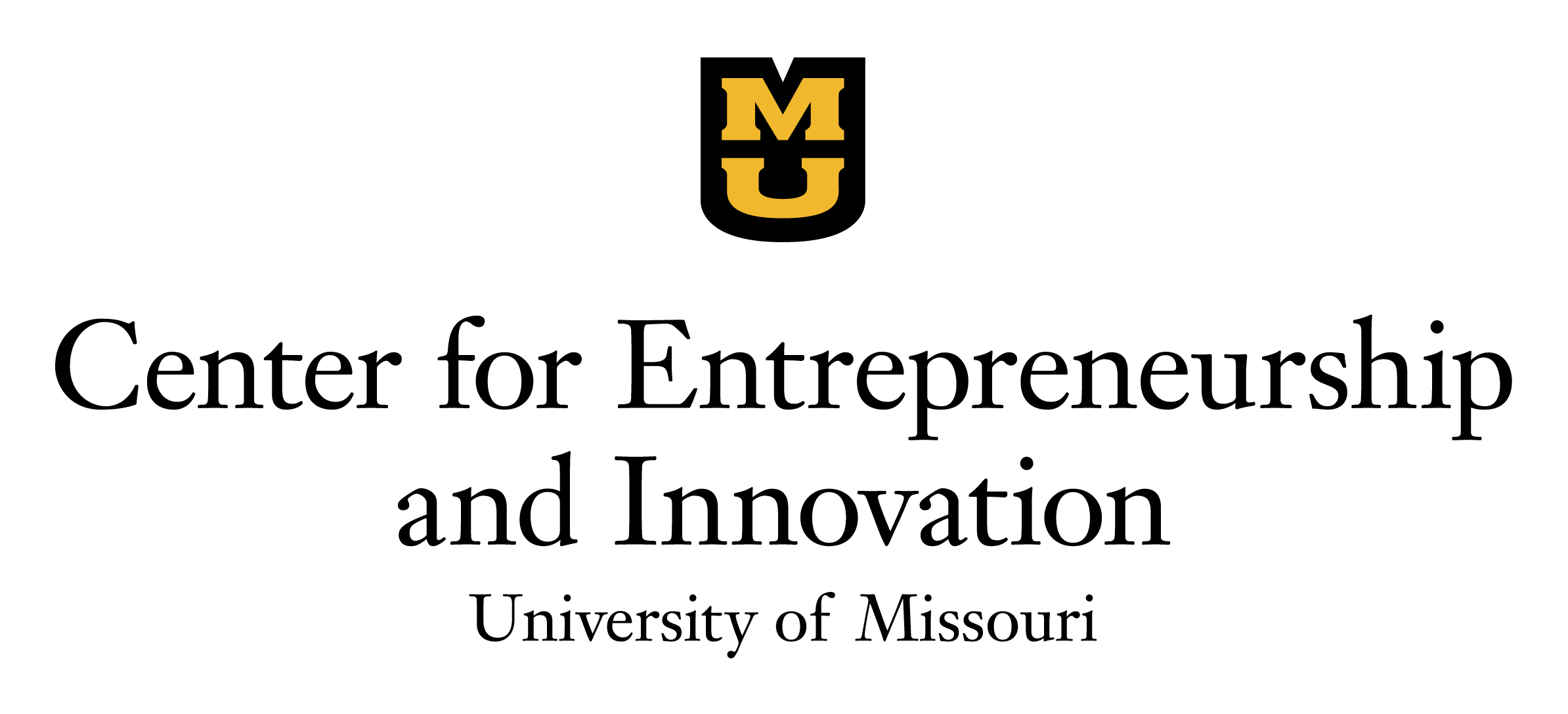 Center for Entrepreneurship and Innovation-University of Missouri Logo